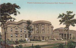 TORONTO , Ontario , Canada , PU-1908 ; Physics Lab , Toronto University