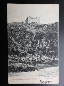 Cornwall: Hoosel / Housel Bay Hotel c1904 (PM) THE LIZARD Squared Circle