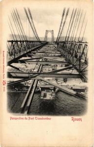 CPA ROUEN Perspective du Pont Transbordeur (415727)