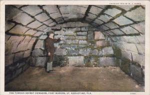 The Famous Secret Dungeon Fort Marion Saint Augustine Florida 1936