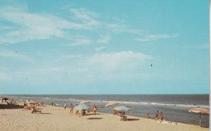 OCEAN CITY, Maryland, 1950-1960s; The Clear, Uncrowded Beach