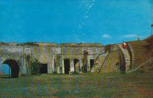 Florida Pensacola Fort Pickens On Santa Rosa Island