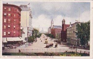 Pennsylvania Avenue From Treasury Washington DC