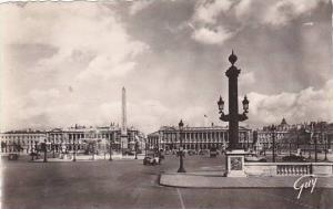 France Paris Place de la Concorde Photo