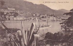 Monaco Monte Carlo Vue sur le Port 1934