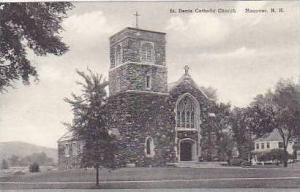New Hampshire Hanover St Denis Cathloic Church Albertype