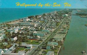 Florida Hollywood-by-the-Sea Aerial View Looking South