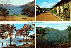 Scotland Loch Lomond Multi VIew