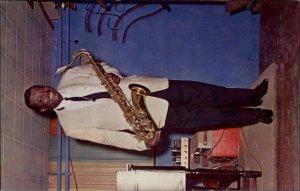 Black Americana Music Paul Bascomb Trumpet & Saxophone Player Postcard