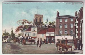 P144 JLs old postcard old market pl. grimsby great britain
