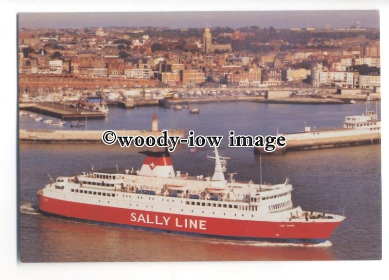 Fe1767 Sally Line Ferry The Viking Built 1974 Ex Kalle Iii Postcard Hippostcard