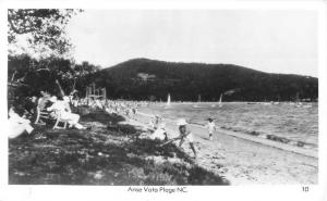 Anse Vata Plage New Caledonia Beach Scene Real Photo Antique Postcard J78824