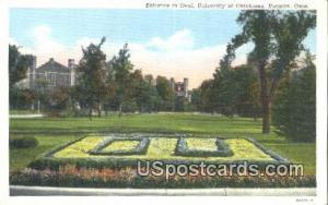 Oval, University of Oklahoma Norman OK Unused
