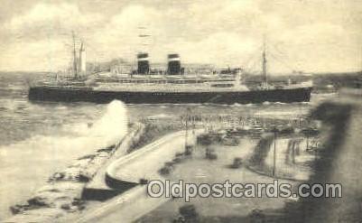 Panama Pacific Line California Steamer Ship Postcard Postcards  Panama Paci...