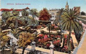Sevilla Jardines del Alcazar Spain Unused