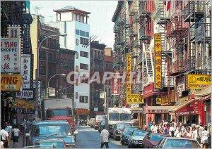 Postcard Modern New York Chinatown China