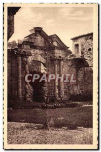 Old Postcard The Ardeche Picturesque Boulogne castle Entree