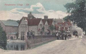 Wall Gathering At Pangbourne Troublesome Children & Parents Meeting Old Postcard
