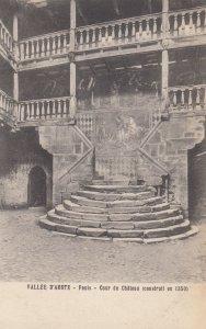 AOSTE, Italy, 1900-1910s ; Fenis - Cour du Chateau