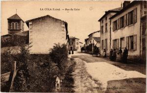 CPA  La Cula (Loire) - Rue du Gelet     (510103)