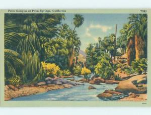 Unused Linen PALM CANYON Palm Springs California CA HM9110