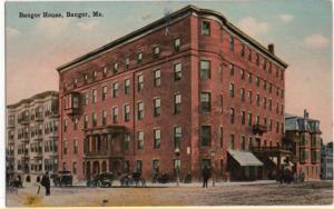 Bangor, Maine, Early View of Bangor House