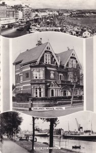 Oaklands Private Hotel Weymouth Dorset Real Photo Postcard