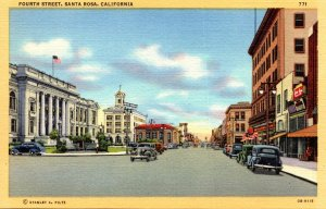 California Santa Rosa Fourth Street