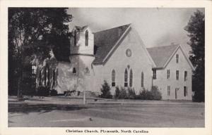 Christian Church , Plymouth , North Carolina , 1930s