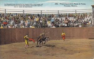 Preparing to kill , Plaza de Toros , Tijuana , Mexico , 00-10s