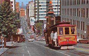 San Francisco Cable Car San Francisco CA