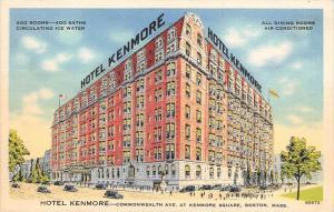 12548   MA Boston 1940's    Hotel Kenmore