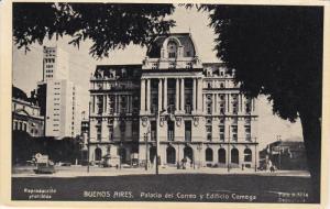 BUENOS AIRES, Argentina, 1900-1910's; Palacio Del Correo Y Edificio Comega