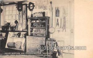 Indian Mortars & Pharmaceutical Equipment Dr John Dickinson's Revolutionary C...