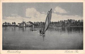 Oranienburg Lehnitz See Schiff Boats Lake Bateaux Lac