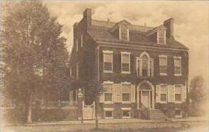 Delaware New Castle The Road House Built 1801 Albertype