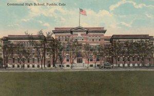 PUEBLO, Colorado, 1900-10s; Centennial High School, version 2