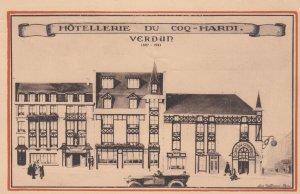 VERDUN, Meuse, France; 1921 ; Hotellerie du Coq-Hardi
