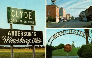 Ohio Clyde Welcome Sign and More