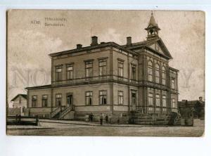 247184 FINLAND KEMI Samskolan school Vintage postcard