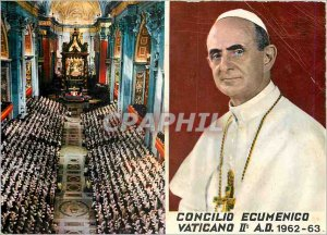 Postcard Modern Concilio Vaticano II Pope Ecumenico