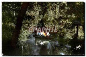 Green Venice - La Conche Lovers - Old Postcard