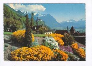 Gegen Schloss Und Falknis, Vaduz, Liechtenstein, PU-1960