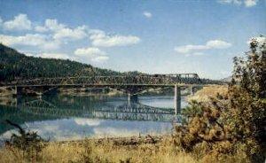 Bridge over Lake Roosevelt - Kettle Falls, Washington