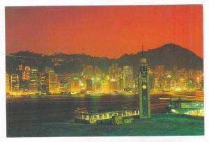 Night Scene, Hong Kong, China, 50-70s