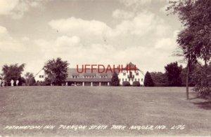 1947 RPPC POTAWATOMI INN, POKAGON STATE PARK, ANGOLA, IN
