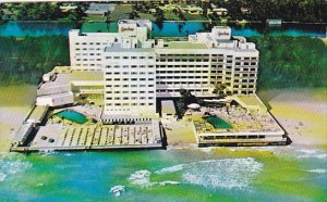 Barcelona Hotel Pools Miami Beach Florida 1951