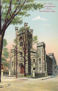 NEW BEDFORD, Massachusetts; First Congregational Church, 00-10s