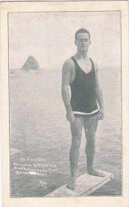 Champion Deep Sea Diver Ed Harrison Catalina California