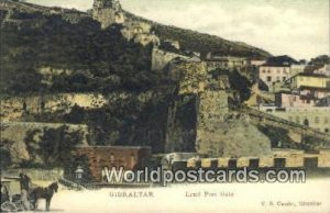Land Port Gate Gibralter Unused